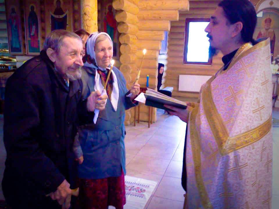 Введен особый чин Венчания для пожилых людей