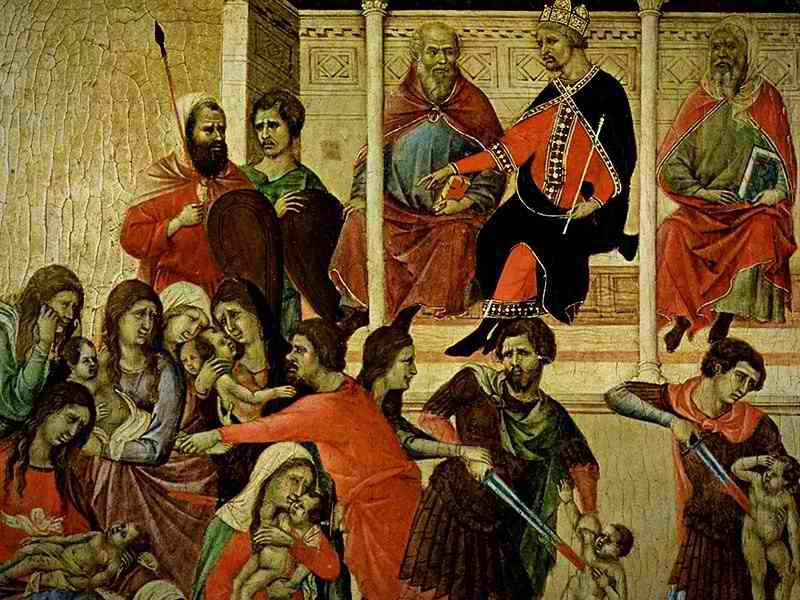 Почему Бог допустил избиение младенцев?