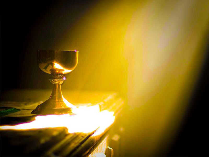 Христос пребывает в Причастии