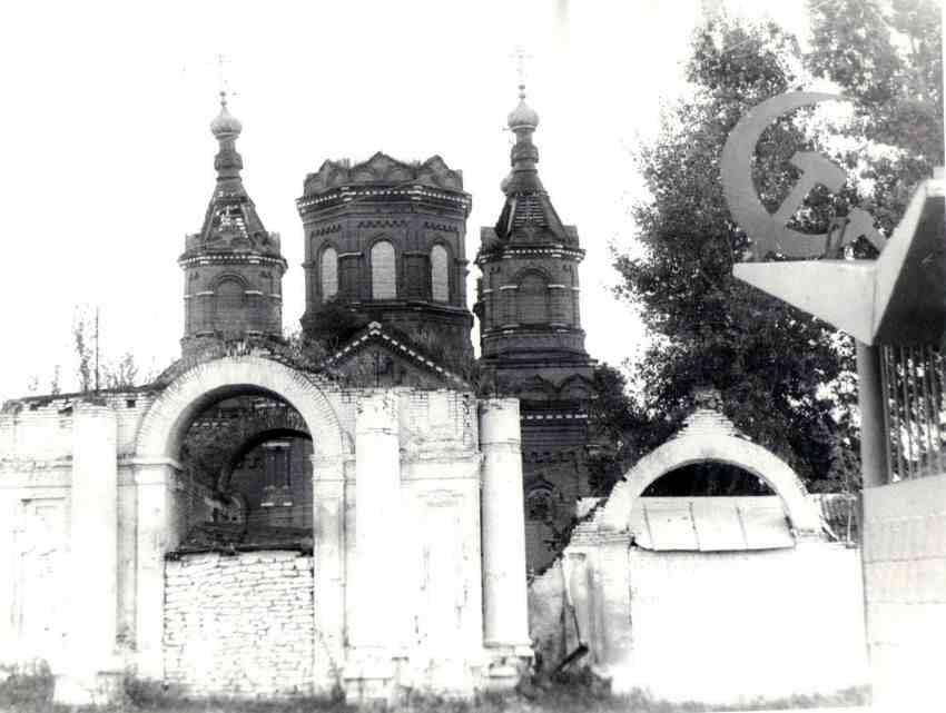 Задонск Троицкий храм