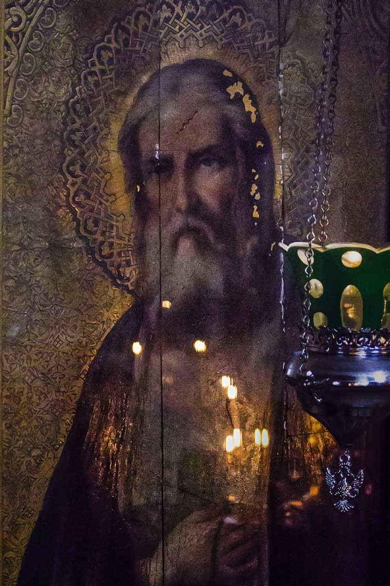 Задонск Троицкий храм Серафим Саровский