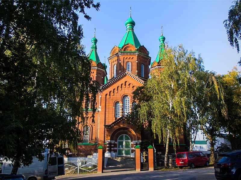 Задонск. Троицкий храм