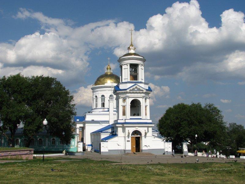 Воронеж Покровский собор