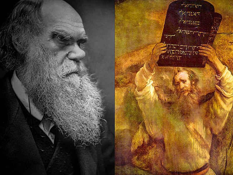 Дарвин против Моисея