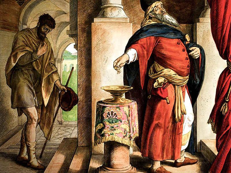 В какие дни постился фарисей из евангельской притчи?