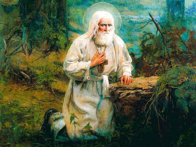 Молитвенное правило Серафима Саровского