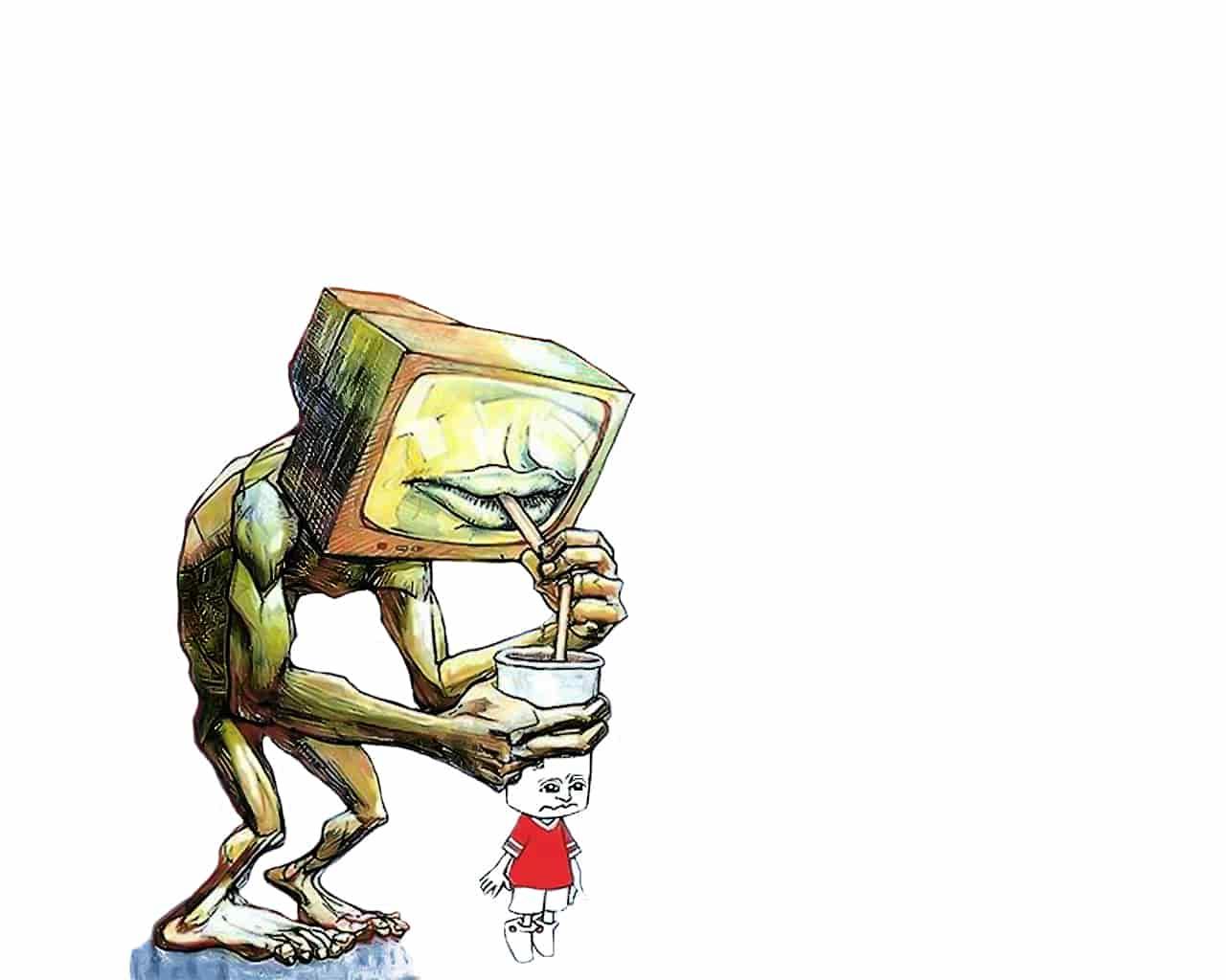 Интернет и телевизор - может ли без них ребенок вырасти неполноценным
