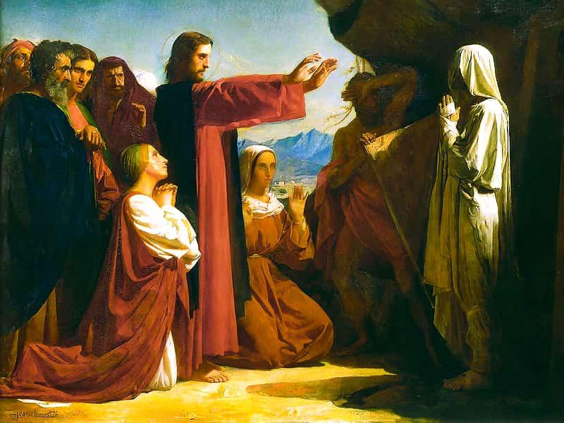 Воскресение Христово в отличии от воскресения Лазаря