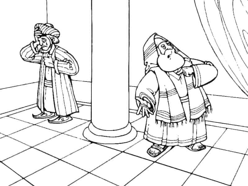 Притча о мытаре и фарисее - утешение неправедных