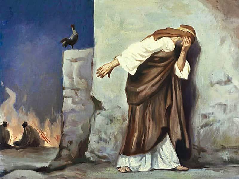 Ступени покаяния,  или что опечалило апостола Петра?
